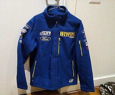 Stone Bros Racing Sbr Blue Jacket V8 Supercars + Sponsors Logos **size Medium**
