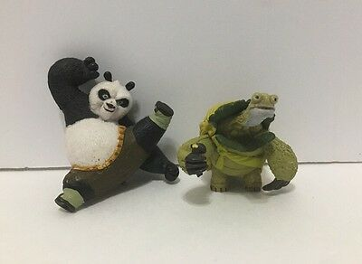Dreamworks Kung Fu Panda Action Figure Toys Oogway and Po Toys Miniature