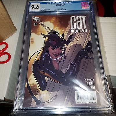 Catwoman #80, Great Adam Hughes Cover, CGC Graded 9.6