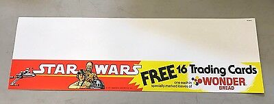 Wonder Bread Star Wars Shelf Talker