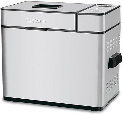 Cuisinart 2 lb. Programmable Automatic Homemade Bread Maker Machine Stainless