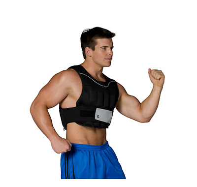 CAP Barbell 20lb Adjustable Weighted Vest Running Strength Resistance Training