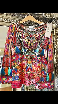 CAMILLA FRANK  Children's Long Sleeve Shirt , Brand New With  tags , Size 8