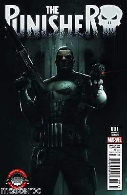 Punisher #1 Limited Edition Comix Francesco Mattina Variant NM or better