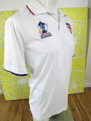 Rugby League World Cup Polo Shirt England And Wales Mens Size L