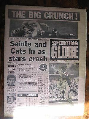 Sporting Globe MAY 1 1976  South Melbourne Carlton  YELLOWING
