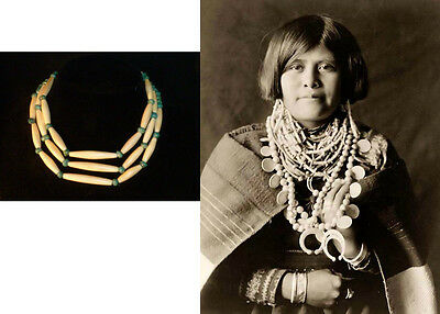 Beautiful Zuni Pueblo (South Western) Female's Necklace….(beads circa 1880's)