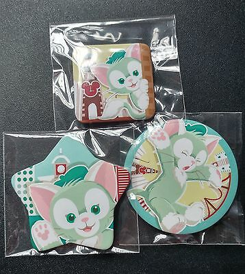 Disney Hong Kong HKDL - 2017 Pin Trading Fun Day -Gelatoni Buttons (Duffy's fd)