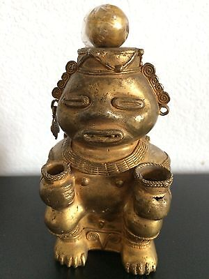 COLOMBIAN COPPER GOLD TUMBAGA - Rare - Poporo Man