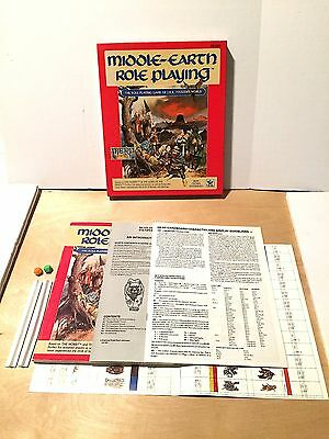 Middle-Earth Role Playing 8100 Merp Complete Box Set ICE 1986