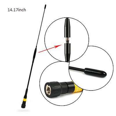 NEW SMA Male Dual Band Antenna for YAESU FT-60R FT-50R VX-3R VX-6R VX-7R VX-8R