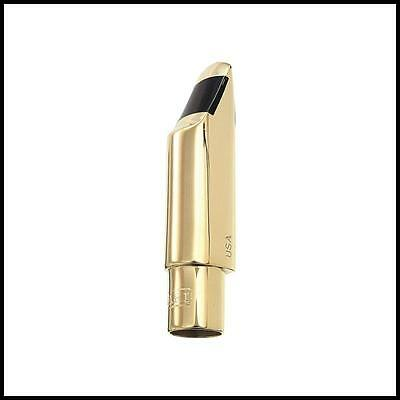 Bari WTII Tenor Saxophone Mouthpiece  Facing 8 Gold plated Made in USA