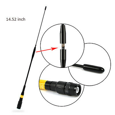 BNC Male Dual Band Antenna Uniden BC125AT BC75XLT BC95XLT BC125AT Scanner Radio