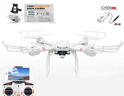 Rc Quadrocopter Mjx X101 Wifi Kamera 2,4 Ghz 4-Kanal Drohne Handy-Halter Led