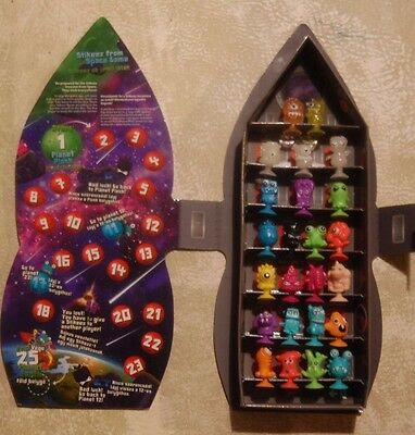 STIKEEZ FROM SPACE 2016 Full set 24 Rocket Case COMPLETE COLLECTION LIDL