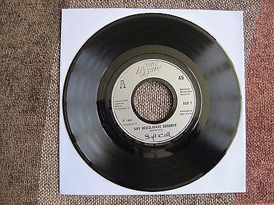 "SOFT CELL - SAY HELLO, WAVE GOODBYE - 7"" 45 rpm vinyl record"