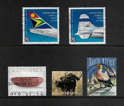SOUTH AFRICA - mixed collection, 2007 & 2009 International & Postcard Air Mail