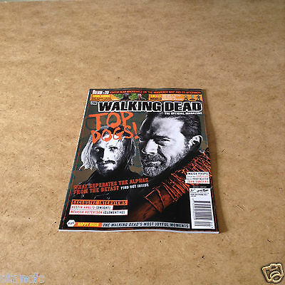 The Walking Dead #20 Spring 2017 The Official Magazine Interviews News Pictures