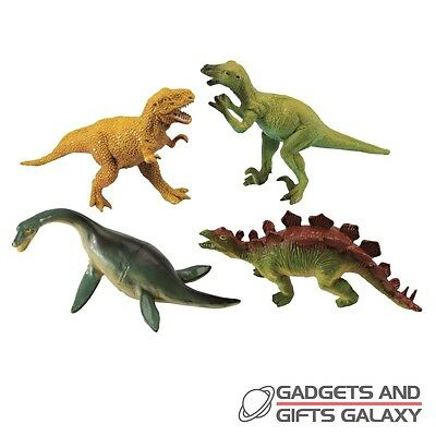 SMALL PLASTIC DINOSAUR x 1 12cm HIGH ass designs toy gift novelty childs kids
