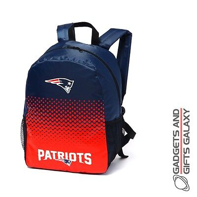 NFL NEW ENGLAND PATRIOTS FADE BACKPACK RUCKSACK SCHOOL SPORTS BAG football gift