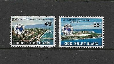 COCOS (KEELING) ISLANDS - mint 1984 Ausipex, set of 2, MNH MUH