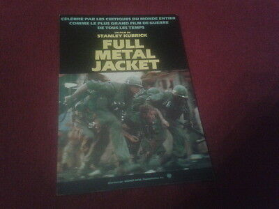 "Carte Postale / Postcard Cinema Affiche Du Film ""full Metal Jacket"""