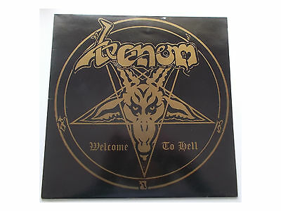 Venom -  Welcome To Hell - LP - UK - Neat Records ‎NEAT 1002