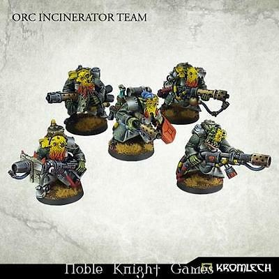 Kromlech Sci-Fi Orc Mini Orc Incinerator Team Box MINT