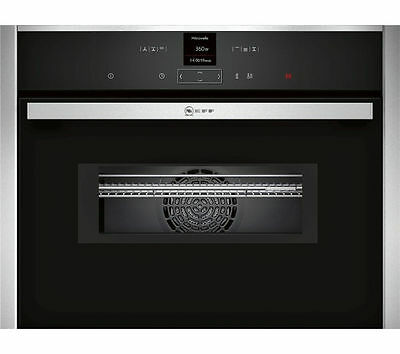 New NEFF C17MR02N0B Built-in Combination Microwave Stainless steel RRP:£799