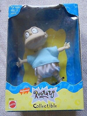 1997 Mattel Nickelodeon Rugrats Collectible Tommy Pickles Doll Nib!