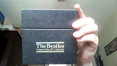 THE BEATLES COMPACT DISC EP. COLLECTION. BOX SET. 15 CDs IN EXCELLENT CONDITION