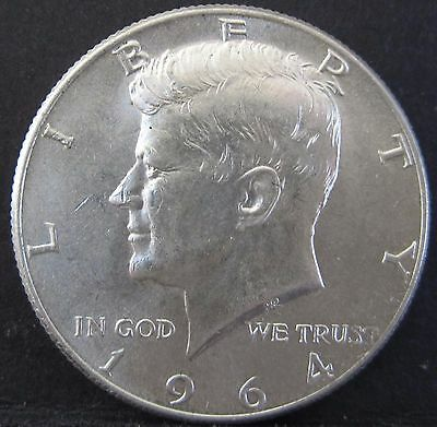 1964 United States America 50c Kennedy Half Dollar #US1964