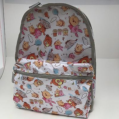 Disney Store Pooh & Friends Tsum Backpack Tigger Eeyore Piglet School Book Bag