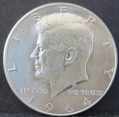 1964 United States America Kennedy Half Dollar 50c #US1964-2