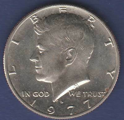 1977 United States America Kennedy Denver Half Dollar 50c #US1977