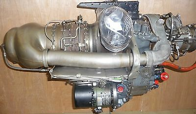 Bell 206 Helicopter  C18b Engine