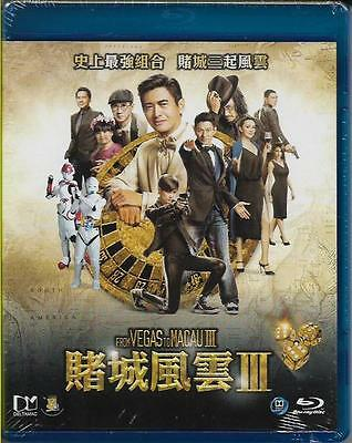 From Vegas to Macau 3 Blu Ray Chow Yun Fat Andy Lau Nick Jacky Cheung Eng Sub