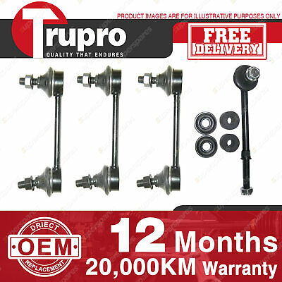 4 Pcs Trupro Front+Rear Sway Bar Links For NISSAN PATROL GQ Y60 WAGON 91-97
