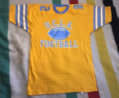 Vintage 70's 80's Russell Deadstock UCLA Bruins Football Jersey LG NOS #82