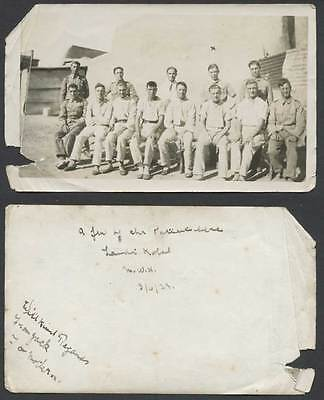 Pakistan 1923 Old Real Photo British Soldier Landi Kotal NWF North West Frontier