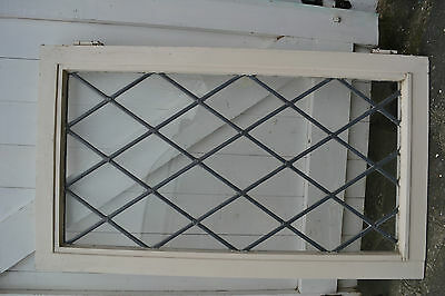 Plain leaded light stained glass window. R503b. WORLDWIDE DELIVERY!!!