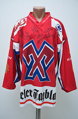 Biel Bienne Hockey Club Signed Training Ice Hockey Shirt Jersey Tfs Switzerland