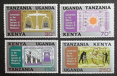 Kenya Uganda Tanzania (1971) Metric System / Science / Measures  - Mint (MNH)