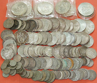 Bulk Lot of World Silver Coins Over 1.3kg