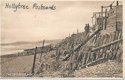 1939 Borth the defences Cardiganshire  Wales