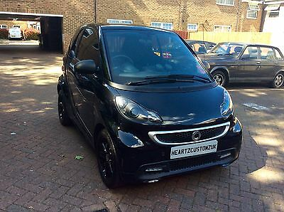 2014 Smart Fortwo Coupe Grandstyle 2dr Softouch Auto 84 Black Automatic