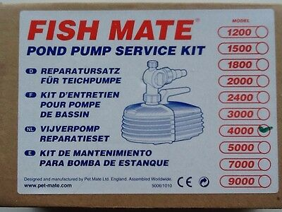 Fish Mate Pump Service Kit (4000)