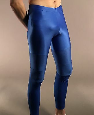 Nike Russian running athletic tights Lycra spandex tights, very shiny tights