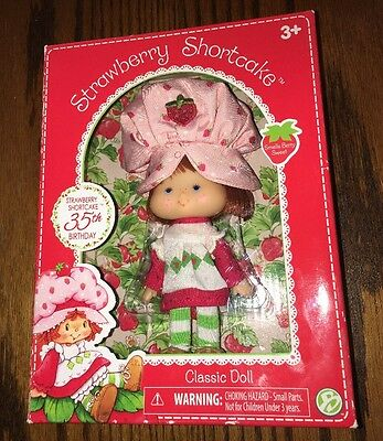 Strawberry Shortcake 35th Anniversary Classic Doll New 2015 SpecIal Edition
