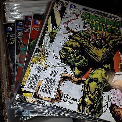 Swamp Thing (New 52, 2011) Lot, Near Complete Run of Issue #s 0, 1-26